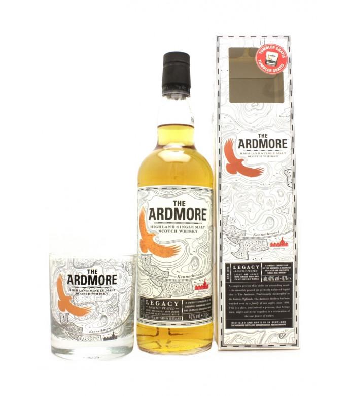 coffret whisky ardmore legacy avec 1 verre highland single malt. Black Bedroom Furniture Sets. Home Design Ideas